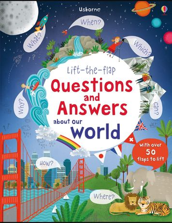 Carte in engleza Questions and answers about our world Usborne