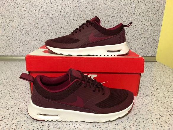 НОВО *** Оригинални Nike Air Max Thea Night Maroon/Nbl Red