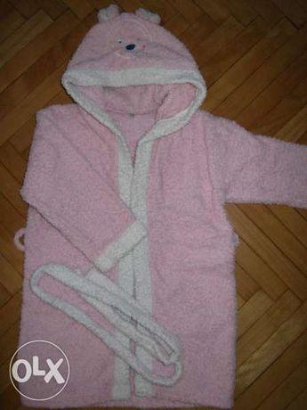 Детски халат за момиче - 2 год.