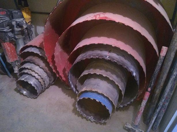 Gauri carotare taiere beton, gaura hota centrala Buzau