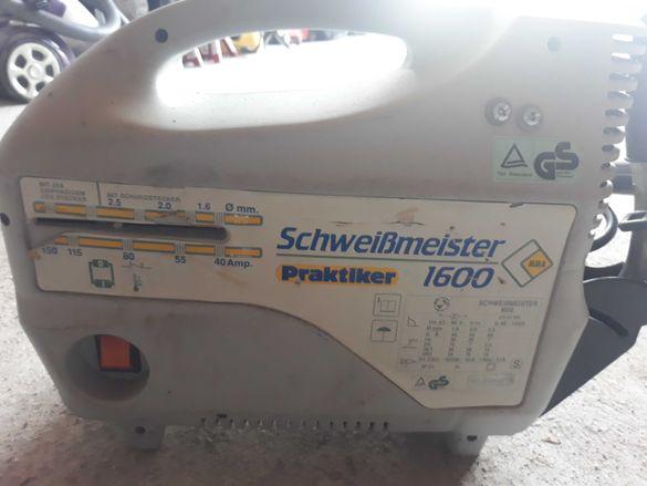 Електрожен Schweibmeister 160А