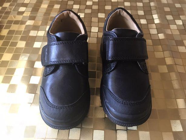 Детские  кожаные туфли- кроссовки Geox