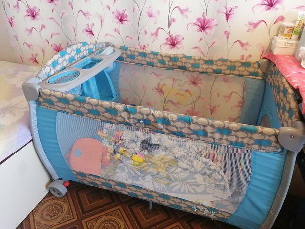 Продам кровать манеж в хорошем состояние.