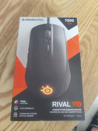 Mouse Gaming Steelseries Rival 110 LED RGB negru mat
