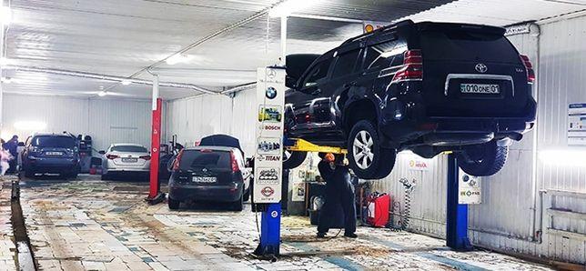 Специализированный автосервис автомобилей марки Toyota Lexus в г. Нур-