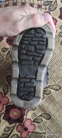 Зимние ботинки, б/у