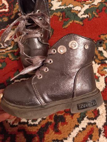 Продам ботинки осень для девочки