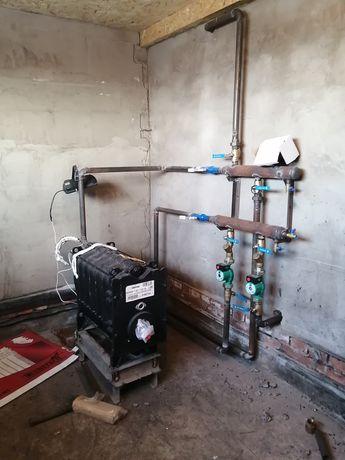 Монтаж отопления, тёплый пол, водопровод, канализация, сантехник.