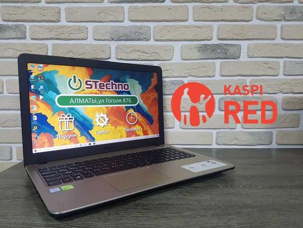 Ноутбук ASUS X540U Core I3-6 ОЗУ 4GB Рассрочка KASPI RED!Гарантия год!