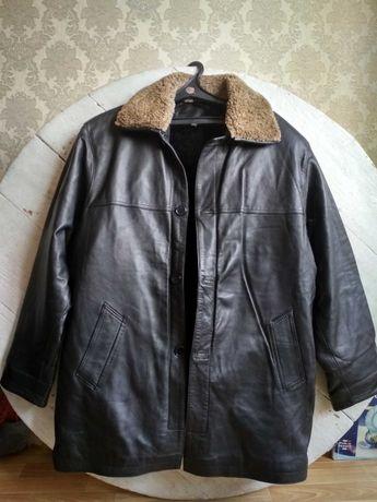 Мужские кожанные куртки