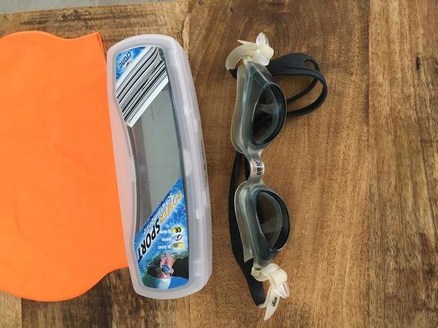 ochelari si casca de inot pt copii