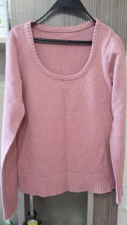 Дамски пуловер TERRA NOVA, M размер, цвят пепел от рози
