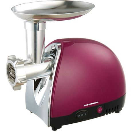 Masina de tocat Heinner MG1500TA-BG, 1600W, accesoriu rosii si carnati