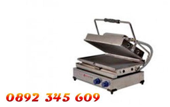 НОВ електрически или газов Професионален Тостер Преса Размери: 45/32см