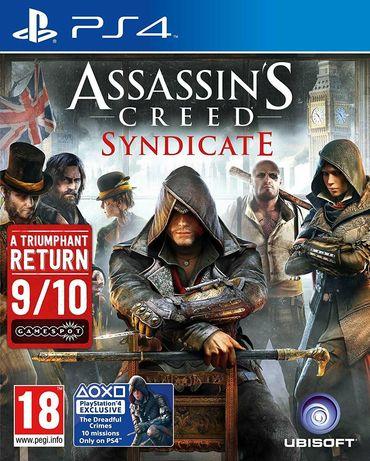 Игра Assassin's Creed: Syndicate (PS4) Playstation 5 съвместима , нова