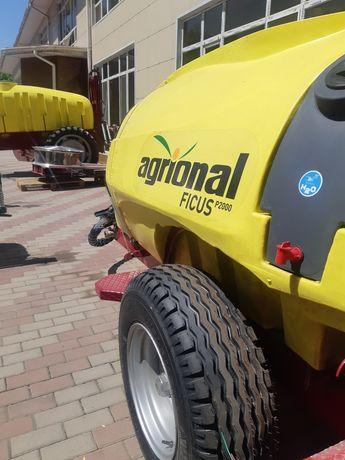 Прицепной садовый опрыскиватель 2000 литров. AGRIONAL TURBO. Турция