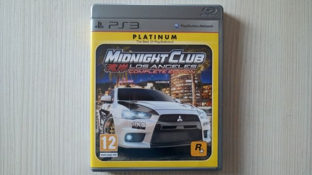 Vand Midnight Club Los Angeles Complete Edition PS3 Play Station 3