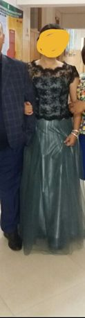 Вечернее платье комплект
