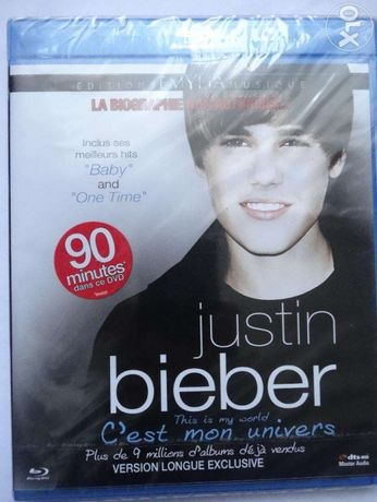 Blu Ray - Justin Bieber, this is my world