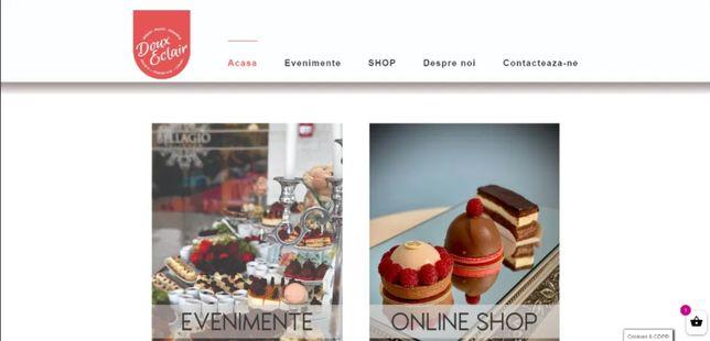 Realizare siteuri web, pagini de prezentare, magazine online