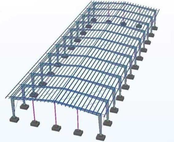 Vand hale metalice orice deschidere și lungime