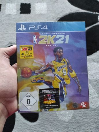 Vând NBA2k21 nou sigilat limited edition