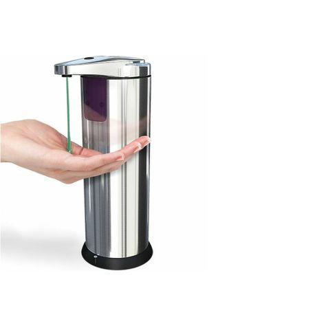 НАЛИЧЕН Автоматичен дозатор за течен сапун със сензор или дезинфектант