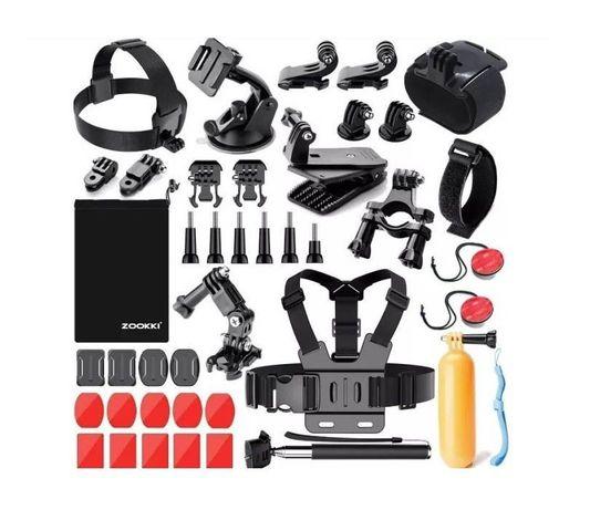 Промопакет 17 аксесоара за екшън камери gopro hero и аналози