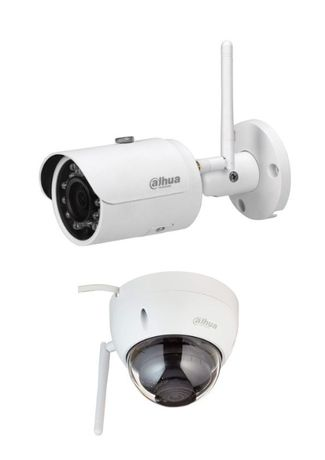 Безжична WiFI IP камера Dahua 3mp HDBW1235E / HFW1235S