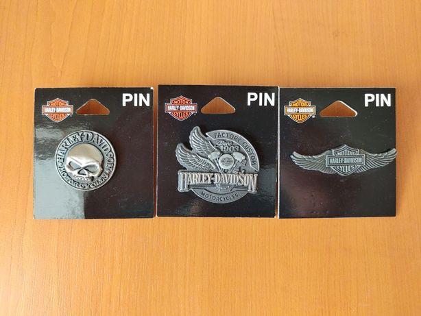 Insigne/Pin Harley-Davidson Craniu Motor Logo