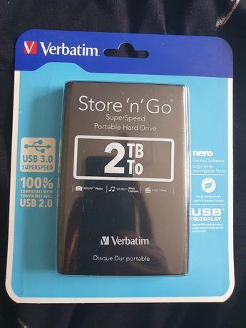 HDD Verbatim Store'n'Go 2TB sigilat