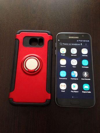 Samsung Galaxy S7 32GB+ гумиран, дизайнерски и противоудрен калъф