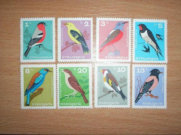 български пощенски марки - фауна