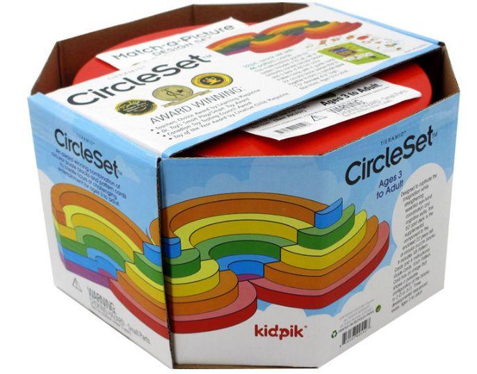 Circle set KidPik Montessori Дървените кръгове на Монтесори гр. Бургас - image 1