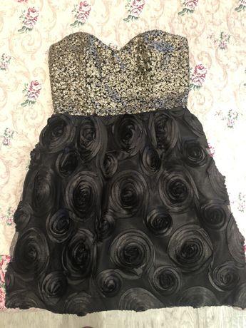 Официална рокля с паети S