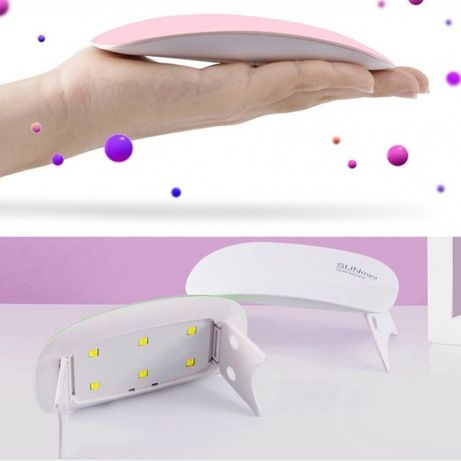 Мини UV/LED лед ув лампа SUN Mini 6W, тип бисквитка!