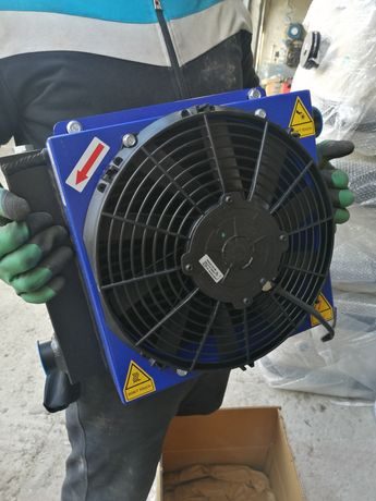 Radiator răcire ulei hidraulic 24v