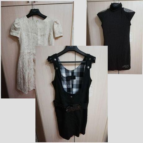 Продам нарядные платья и офисный сарафан