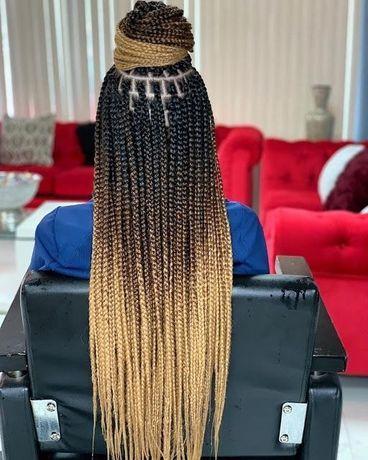 Codite afro, box braids, classic braids