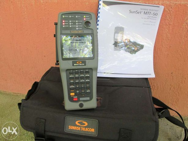 Tester LAN Ethernet Sunrise Telecom MTT-50[