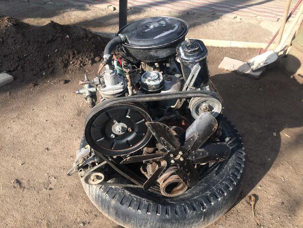 двигатель газ 53. 66
