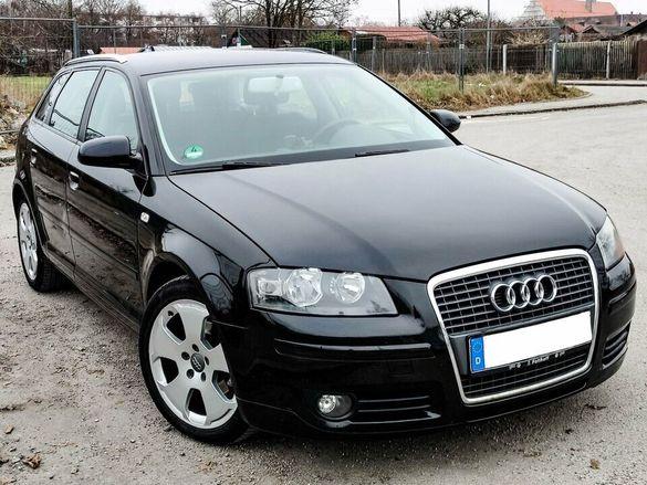 Audi a3 2.0 TDI 140 SPORTBACK НА ЧАСТИ !!!