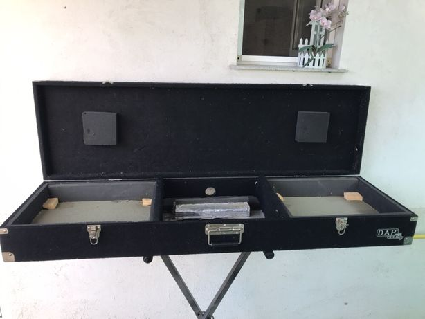 FlightCase/ Geanta de transport Dap Audio ptr 2 pick-up-uri si mixer