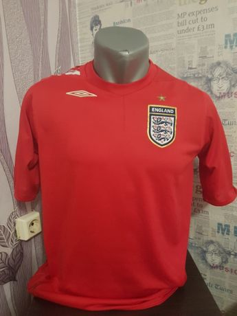 Оригинална футболна тениска на Англия