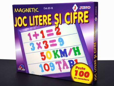 Joc cu Litere si cifre magnetice