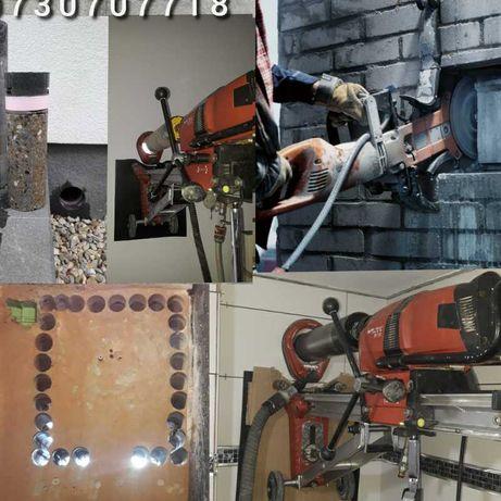 Gaura hota, taiere beton, centrala, carotare beton umeda pt. aierisire