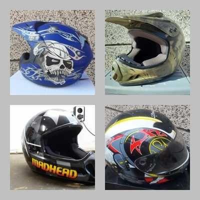 Каски за кросови и пистови мотори