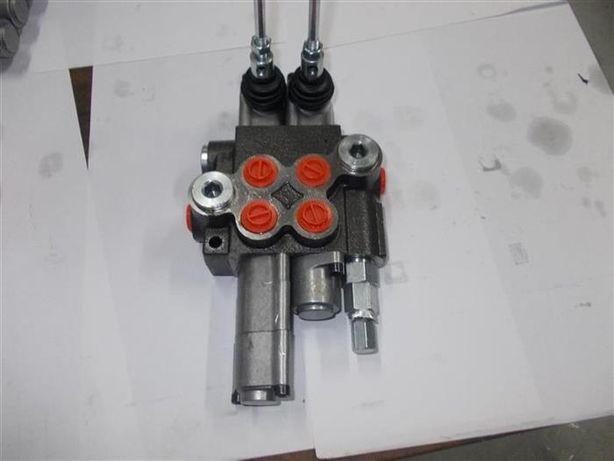 Distribuitor hidraulic 2 manete cu flotant si dublu efect OFERTA