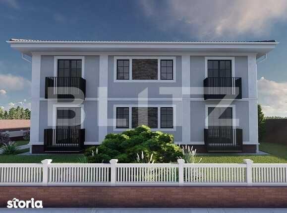 Vanzare apartament in imobil tip vila, 73.69 mp utili, Giarmata Vii