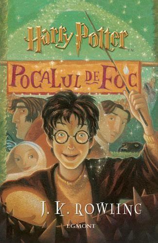 Cartea Harry Potter și Pocalul de foc vol.4 Bucuresti - imagine 1